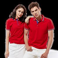 Стильная рубашка поло , StanSalute, 05RUS, Красный (14), XL/52