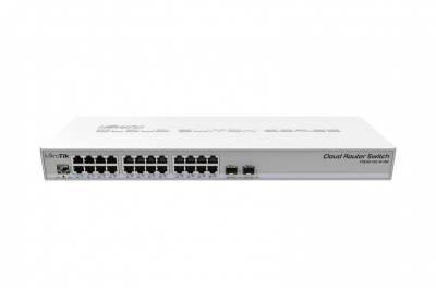 Коммутатор Cloud Router Switch Mikrotik CRS326-24G-2S+RM
