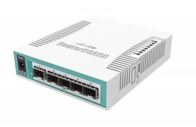 Коммутатор Cloud Router Switch Mikrotik CRS106-1C-5S (RouterOS L5)