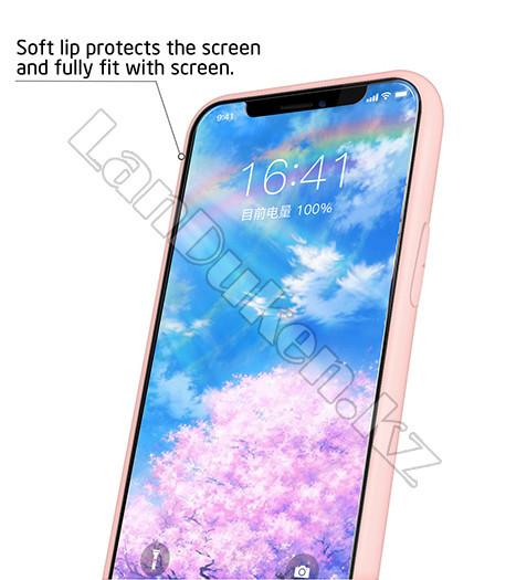 Чехол для смартфона гелевый IPHONE 7P/8P розовый единорог и шарики - фото 6