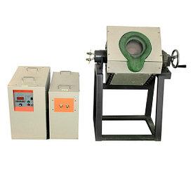 Небольшая индукционная печь для плавления стали IGBT (1KG-100KG)