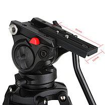 Штатив Viltrox VX-18m / Мощный видео штатив. Как для фото так и для видео, фото 2