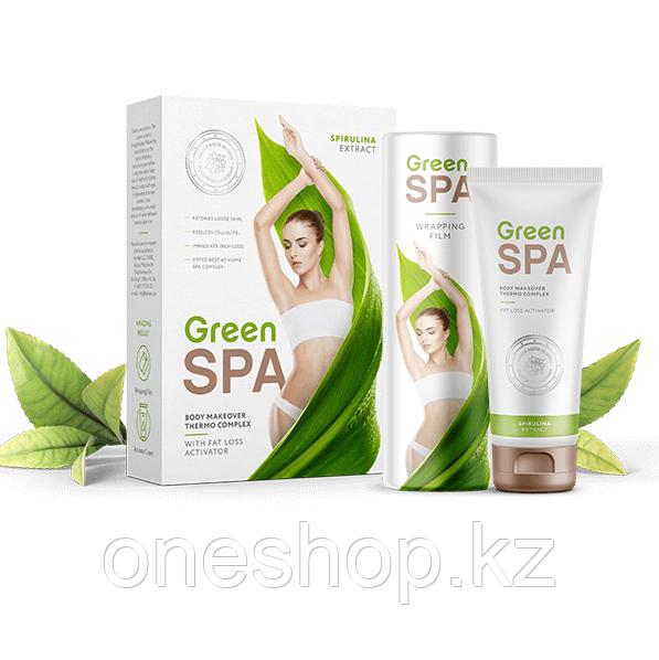 Комплекс Green SPA для домашнего обертывания (крем и термопленка)