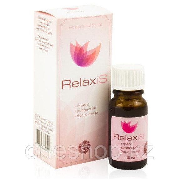 Капли RelaxiS от стресса, депрессии и бессонницы