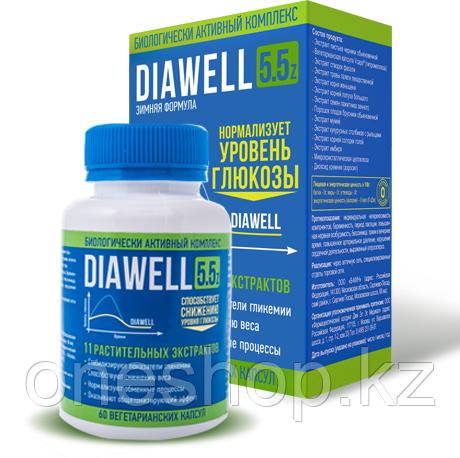 Капсулы от диабета Diawell 5.5 Z (Диавелл)