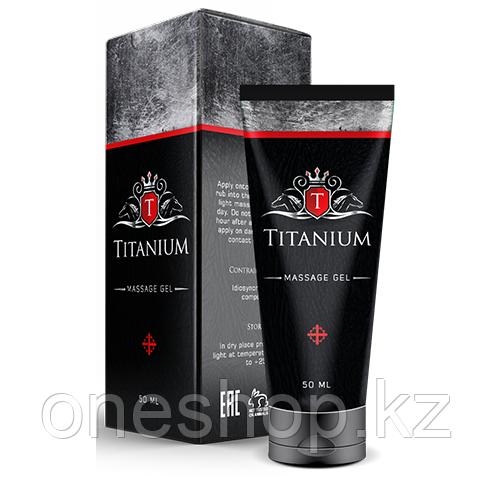 Гель Titanium (Титаниум) для увеличения члена