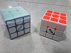 Кубик Рубика 3 на 3 MofangGe Thunderclap в черном пластике, фото 2