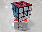 Кубик Рубика 3 на 3 MofangGe Thunderclap в черном пластике, фото 7