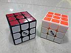 Кубик Рубика 3 на 3 MofangGe Thunderclap в черном пластике, фото 5