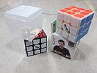 Кубик Рубика 3 на 3 MofangGe Thunderclap в черном пластике, фото 6