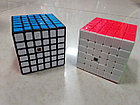 Кубик Рубика 6 на 6 Moyu в черном пластике. Kaspi RED. Рассрочка., фото 3