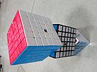 Кубик Рубика 6 на 6 Moyu в белом пластике, фото 7