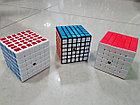 Кубик Рубика 6 на 6 Moyu в белом пластике, фото 5