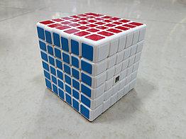 Кубик Рубика 6 на 6 Moyu в белом пластике