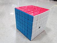 Кубик Рубика 6 на 6 Moyu в цветном пластике
