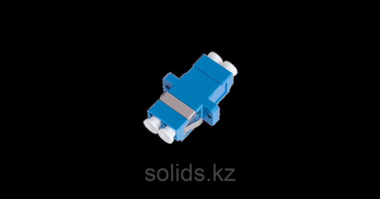 Адаптер оптический соединительный  LC/UPC-LC/UPC двойной