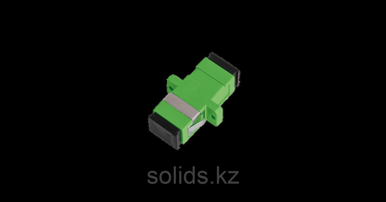 Адаптер оптический соединительный SC/APC-SC/APC одинарный
