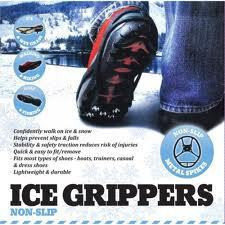 Ледоступы - антискользящие накладки на подошвы АЙС ГРИП