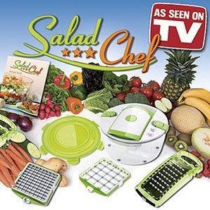 Универсальная ручная овощерезка Salad Chef (Салад Шеф)