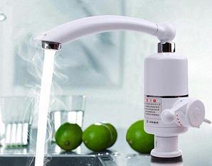 Кран Проточный водонагреватель