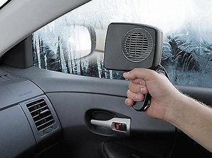 Обогреватель автомобильный для стекол от прикуривателя 12В