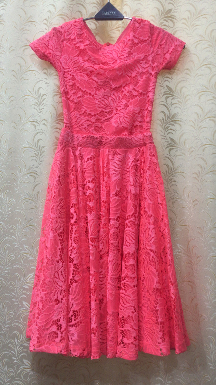 Гипюровое платье Двойка