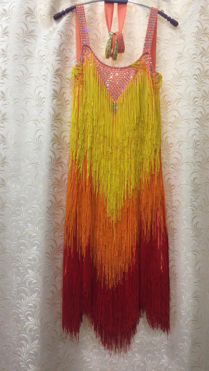 Платье для латины (ЮН 2)