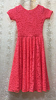 Рейтинговое платье гипюровое
