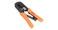 Инструмент обжимной, коннекторы: 8P8C, 6P6C, 6P4C