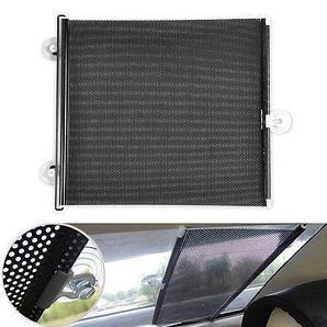 Солнцезащитная шторка-ролет на присосках на лобовое стекло авто