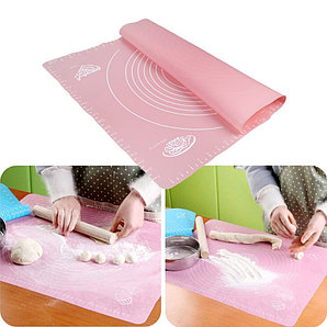 Силиконовый кулинарный коврик 40х50 см