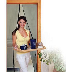 Защитная сетка-штора на двери на магнитах Magic Mesh (Меджик Меш)