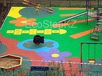 Надежное, травмобезопасное покрытие для детских площадок из каучуковой и резиновой крошки