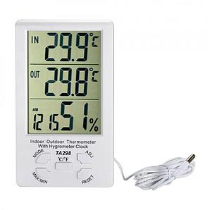 Термометр часы