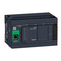 Базовый блок M241-24 входа/выхода , транзисторный источник Ethernet