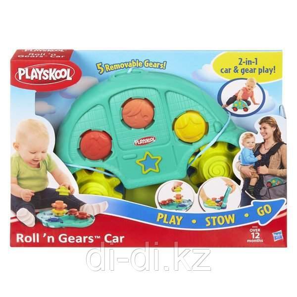Развивающая игрушка Playskool Машинка и шестеренки