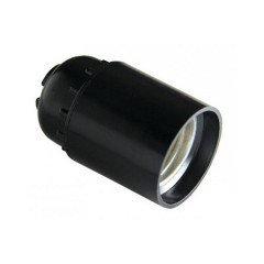 Патрон карболитовый E27 черный