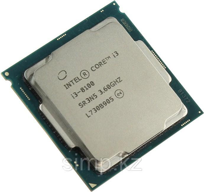 Intel 1151 Core i3-8100 Core/Threads 4/4, Cache 6M, Frequency 3.60/3.60 GHz