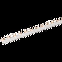 Шина соединительная типа FORK (вилка) 1Р 63А (дл.1 м) ИЭК