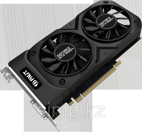 Видеокарта NVIDIA GeForce®GTX 1050 Ti DUAL