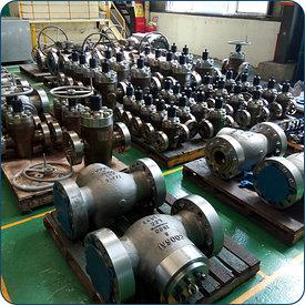 Литейные запорные клапаны, глобусные клапаны, обратный клапаны