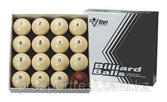 Бильярдные шары для русского бильярда Старт 68 мм