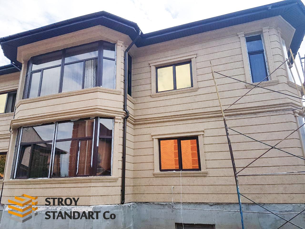 Фасадные панели из пенопласта