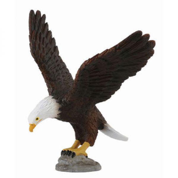 Collecta Фигурка Американский лысый орел, высота 10.5 см