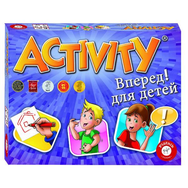"""Games Piatnik Настольная игра """"Активити"""" Вперёд для детей, Activity"""