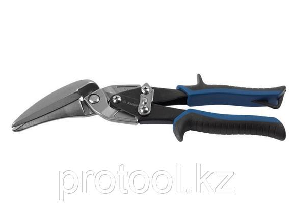 ЗУБР Ножницы по металлу, правые удлинённые, Cr-Mo, 280 мм, серия Профессионал, фото 2