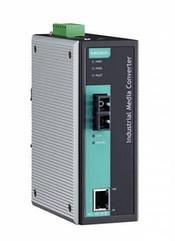 Медиаконвертер Ethernet 10/100BaseTX в 100BaseFX (одномодовое оптоволокно) в металлическом корпусе с расширенн