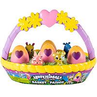"""Hatchimals Игровой набор Хетчималс с коллекционными фигурками """"Весенняя корзина"""""""