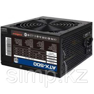 Блок питания ATX-500 500W ATX 2*IDE 4*SATA PCI6Pin FAN12C