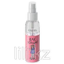 Детский спрей - сияние для волос Estel Professional LITTLE ME 100 мл.